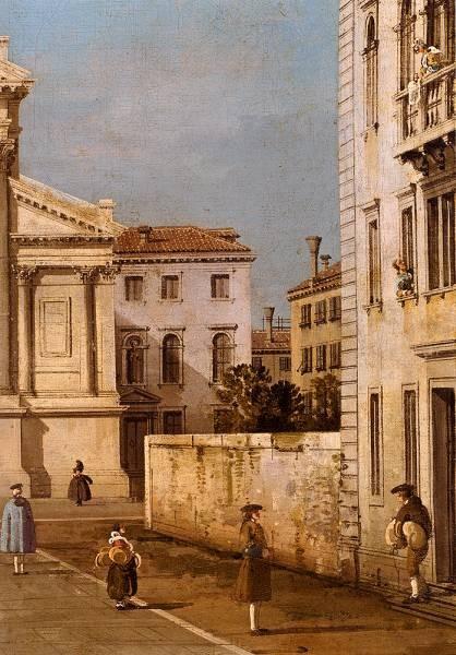 Canal Giovanni Antonio S Francesco Della Vigna Church And Campo